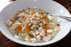This is an excellent salad I whipped up one evening for dinner. My husband has been out of town, so salads are a regular thing if I'm eating solo. But this was so good, I'm going to double it for both of us next time! If your kids are on board with Asian flavors, …