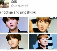 Shocked BTS