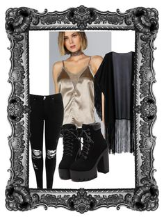 """""""Untitled #155"""" by herojohnson on Polyvore featuring WithChic and Boohoo"""
