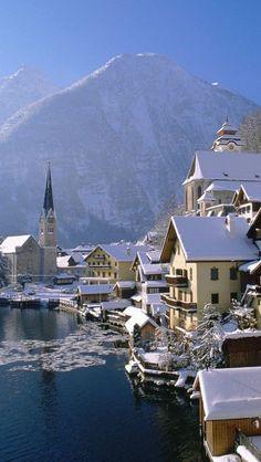 Travel Inspiration for Austria - Hallstatt In Austria