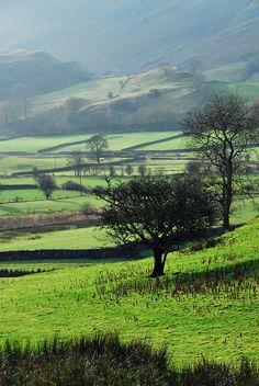 Naddle Valley, Keswick, England