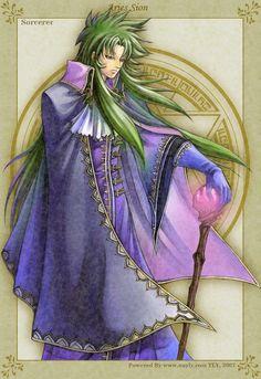 Golden Fantasy-Sorcerer Sion by uuyly on deviantART