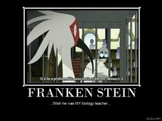 A meme about Franken Stein from Soul Eater, because everybody loves crazy scientists x3