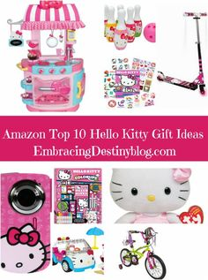 Top 10 Hello Kitty Gift Ideas. 12 Days of Christmas Gift Guides at embracingdestinyblog.com