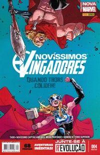 LIGA HQ - COMIC SHOP NOVISSIMOS VINGADORES #4 PARA OS NOSSOS HERÓIS NÃO HÁ DISTÂNCIA!!!