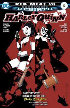 Harley Quinn n°17 (05.04.2017) #harley #quinn #dccomics #comics #dc #dcrebirth #harleyquinn