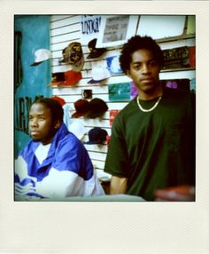 a young Outkast circa first album