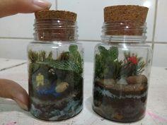 Mini jardim #terrariofechado #terrarium