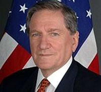 Richard Holbrooke, former U. Ambassador to the United Nations, received the Truman Peace Prize in 2001 for his work as chief negotiator for the 1995 Dayton Peace Accords that ended the war in Bosnia.