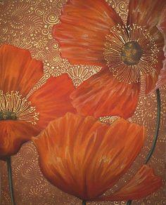 La Splendour Florale Du Pavot by Cherie Roe Dirksen (www.cherieroedirksen.com)