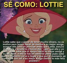 Lottie me caía bien Disney And Dreamworks, Disney Pixar, Kawaii Disney, Love Phrases, Disney Quotes, Best Friends Forever, Disney Movies, Funny Memes, Feelings