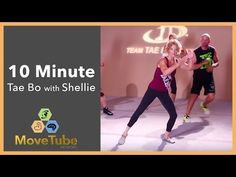 Get your cardio in with the incredible Shellie Blanks Cimarosti of Team Tae Bo Fitness. Blast away the calories as you get right into it during this 12 minut. Tae Bo Workout, 8 Minute Workout, Back Fat Workout, Kickboxing Workout, Youtube Cardio, Low Impact Workout, Thing 1, Keep Fit, Gym