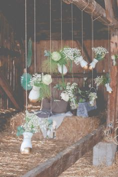 Romantisch-sommerleichte Hochzeitsinspiration von ivy