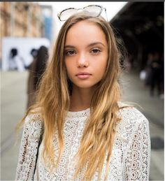 2014 jan takes as date to fashion show, first public outing. Inka Williams, Fashion Show, Long Hair Styles, Womens Fashion, Lace, Instagram Posts, Beauty, Beautiful, Tops