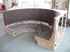 Bilderesultat for restaurant booth seat construction