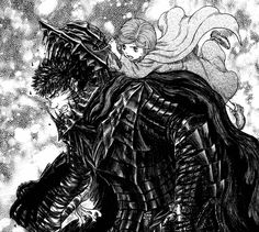 Schierke saves Guts from the berserk armor once again