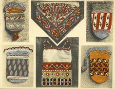 Azerbaijani embroidery design work.