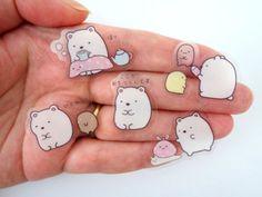 Japanese Summiko Gurashi San-X Stickers / by HappyKiwiGifts