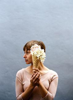 Floral Scoops (Series) by Parker Fitzgerald for Kinfolk Vol. Book Design, Cover Design, Web Design, Graphic Design, Creative Design, Print Design, Editorial Layout, Editorial Design, Home Decor Ideas