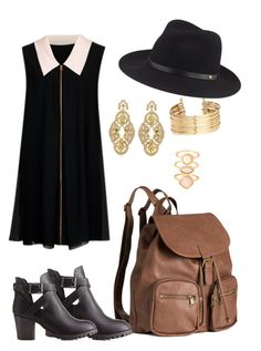 """""""Sans titre #90"""" by bethlafabuleuse on Polyvore featuring mode, H&M, Charlotte Russe, Ted Baker, Badgley Mischka, rag & bone et Accessorize"""