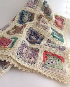 Another pretty  Crofter blanket