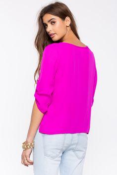 Блуза Размеры: S, M, L Цвет: ярко-синий, малиновый, горчичный, бирюзовый Цена: 1258 руб.   #одежда #женщинам #блузы #коопт