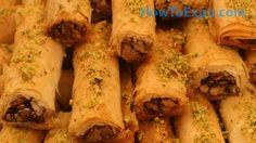 Baklava Fingers Recipe How To Make Baklava Fingers (Easy Des