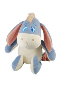 Disney Eeyore Certified Organic Plush by Greenpoint Brands LLC. $23.39. From the Manufacturer                My Natural Disney organic cotton plush characters are soft and cuddly, safely made with non-toxic coloring process. Filled with recycled fiber, each toy promotes conservation of our planet.                                    Product Description                New from miYim, beautifully made organic Disney plush toys are the ultimate in safely and softness for bab...