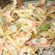 Grandma's Vintage Recipes: SHOESTRING POTATO TUNA SALAD