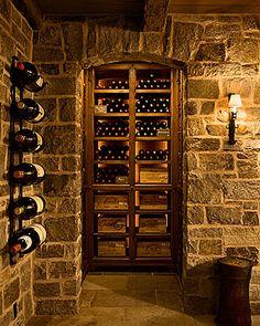 Luxury Wine Cellar, Gil Schafer