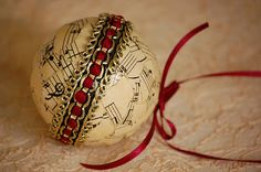 Vintage christmas diy Christmas ornament