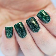 Bundle Monster stamping plate BM-212 by Paulina's Passions