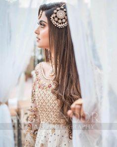 Famous Tik Tok Star Kanwal Aftab Awesome Photoshoot Asian Bridal Dresses, Pakistani Bridal Dresses, Wedding Dresses For Girls, Nikkah Dress, Wedding Outfits, Fancy Dress Design, Bridal Dress Design, Stylish Dress Designs, Pakistani Bridal Makeup