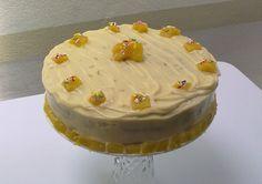 Cake de zanahoria...