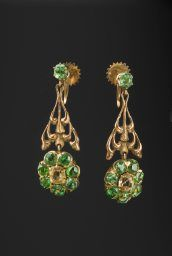Ehrström, Eric O. / Earring (1881-1934) /gold, jewelI / Gösta Serlachius Fine Arts Foundation