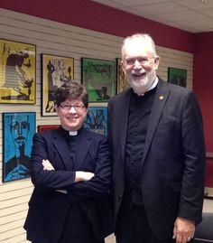 ELCA Presiding Bishop Elizabeth Eaton and ELCA Secretary Chris Boerger.