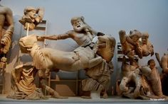 Pediment of the Temple of Zeus.Olympia Photo by feray umut — National Geographic Your Shot