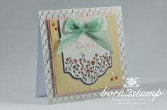 STAMPIN' UP! born2stamp Kartenset Landlust - Cottage greetings card kit