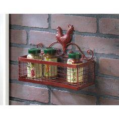 Rooster Single Wall Baske... - AC Treasures | Scott's Marketplace
