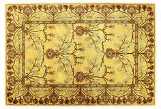 Crafts Rug, Gold/Rust on OneKingsLane.com