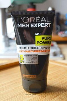 Testen und Freuen: L'Oréal Pure Power Tägliche Kohle-Reinigung: Nicht nur für Männer