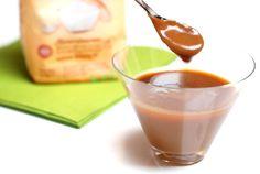 ¡Esta salsa es un pecado!Queda increíble sobre frutas, torrijas, crepês, manzanas asadas, etc... de verdad que me gusta más que la de chocolate y con