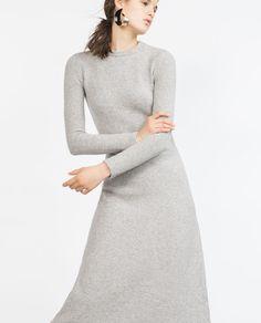 Image 2 of LONG MINIMAL DRESS from Zara