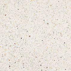 L-460. Formato: 40x40 cm. Composición: mármol triturado de color blanco y amarillo y fondo de color blanco. #terrazo #terrazzo #pavimento
