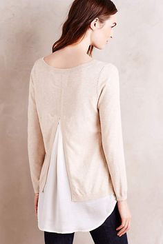 Layered Duet Pullover - #anthroregistry