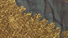 Photographie : Bénédicte Meffre - Hémiole.Fragment de chasuble brodée, Pays germaniques, 2eme moitié du XIIe siècle.