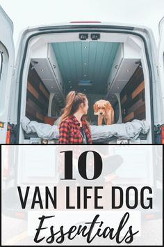 Van Life Dog Essentials You Need for Your Pup Everything you will need for your dog on the road vanlife Auto Camping, Van Camping, Camping Hammock, Eureka Camping, Camping Stove, Camping Kitchen, Camping Trailers, Stealth Camping, Kayak Camping