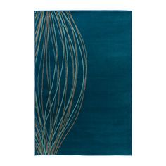 MALIN BLAD Rug, low pile - IKEA/ like this tone of  blue