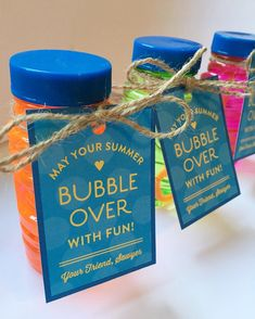 To kick off summer, Sawyer gave his classmates these little bubbles as gifts yes. 2019 - ruffle tutu bubble blank bubble dress bubble pink bubble romper bubble romper for girl bubbles smocked bubble bubble bubbles ruffle bubble - Ruffle Bubbles Customer Appreciation, Appreciation Gifts, Volunteer Appreciation, Student Gifts, Teacher Gifts, Daycare Gifts, School Gifts, Resident Retention, Real Estate Gifts