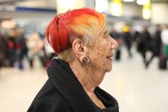 ADVANCED STYLE: A New Hairdo